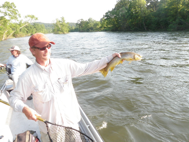 Bull shoals white and norfork river fishing report 6 6 11 for Bull shoals lake fishing report